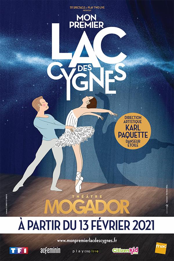 Mon Premier Lac des Cygnes, représentations au théatre Mogador à partir du 13 février 2021