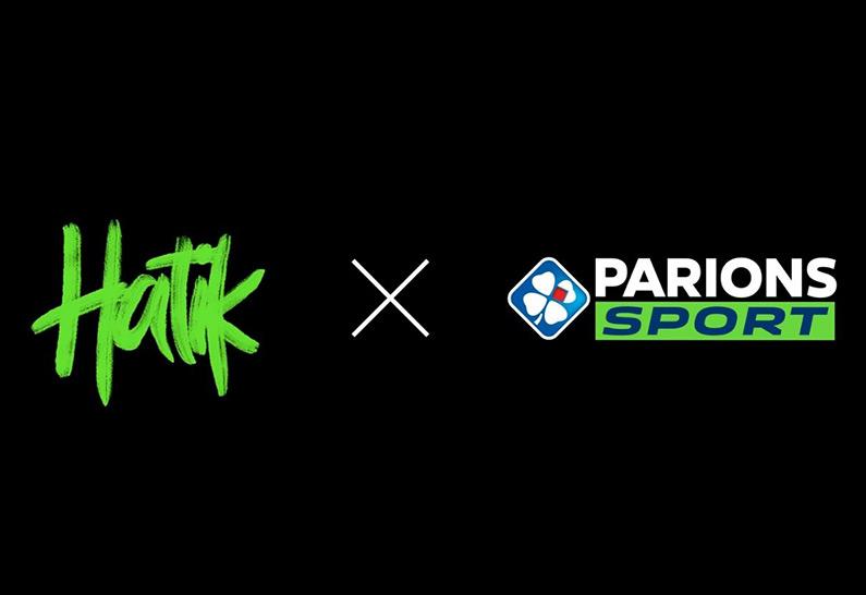 Hatik devient ambassadeur de la marque Parions Sport