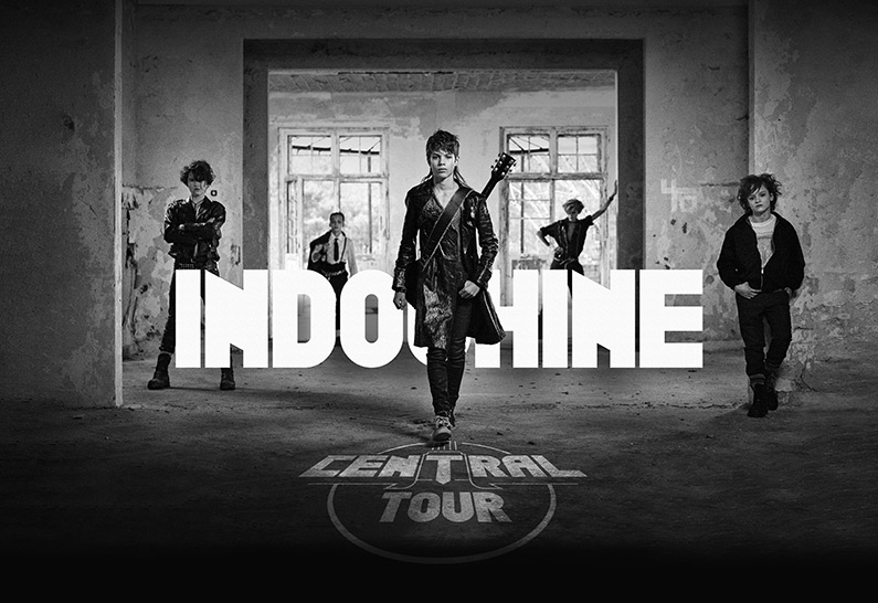 Indochine annonce le Central Tour avec Play Two Live