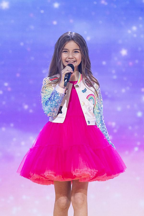 Valentina - concours Eurovision Junior
