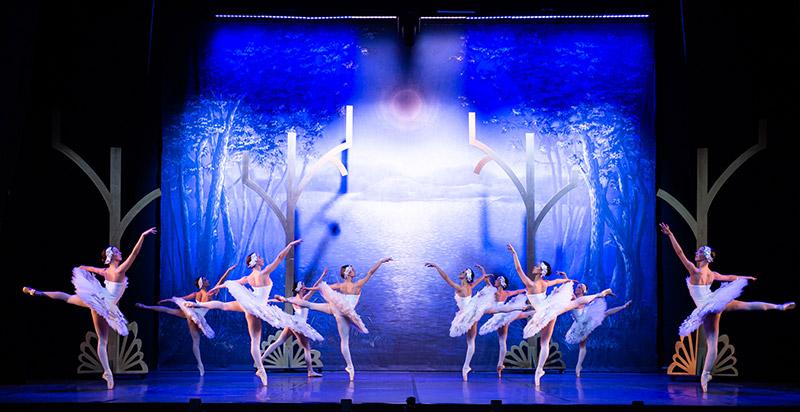 Spectacle Mon Premier Lac des Cygnes - théâtre Mogador Paris